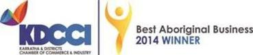 Best Aboriginal Business winner 2014